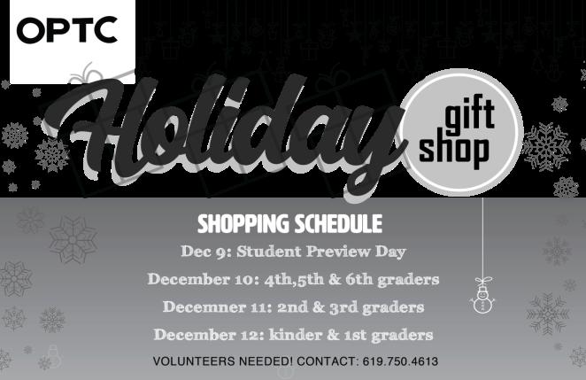 Store schedule