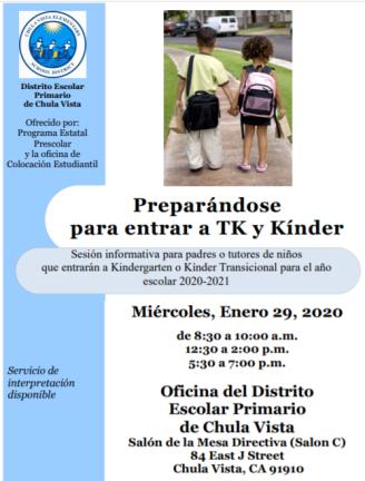 TK-Kinder Spanish