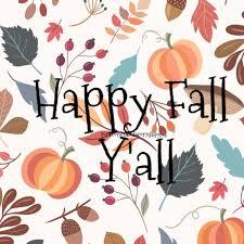 Pine Cones and Acorns: Happy Fall Y'All